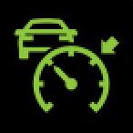 Audi Dashboard Warning Lights - Adaptive cruise control 5 - Green