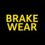 Audi Dashboard Warning Lights - Brake pads - Yellow