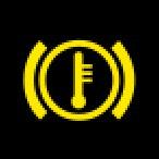 Audi Dashboard Warning Lights - Brake system - Yellow