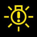 Audi Dashboard Warning Lights - Bulb failure indicator - Yellow
