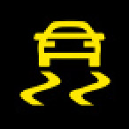 Audi Dashboard Warning Lights - Electronic Stabilization Control - ESC - Yellow