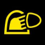 Audi Dashboard Warning Lights - Light-Rain sensor - Yellow