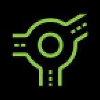 Audi Dashboard Warning Lights - Predictive efficiency assist 6 - Green
