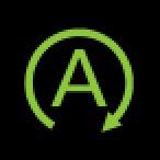 Audi Dashboard Warning Lights - Start-Stop system - Green