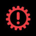 Audi Dashboard Warning Lights - Transmission - Red