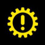 Audi Dashboard Warning Lights - Transmission - Yellow
