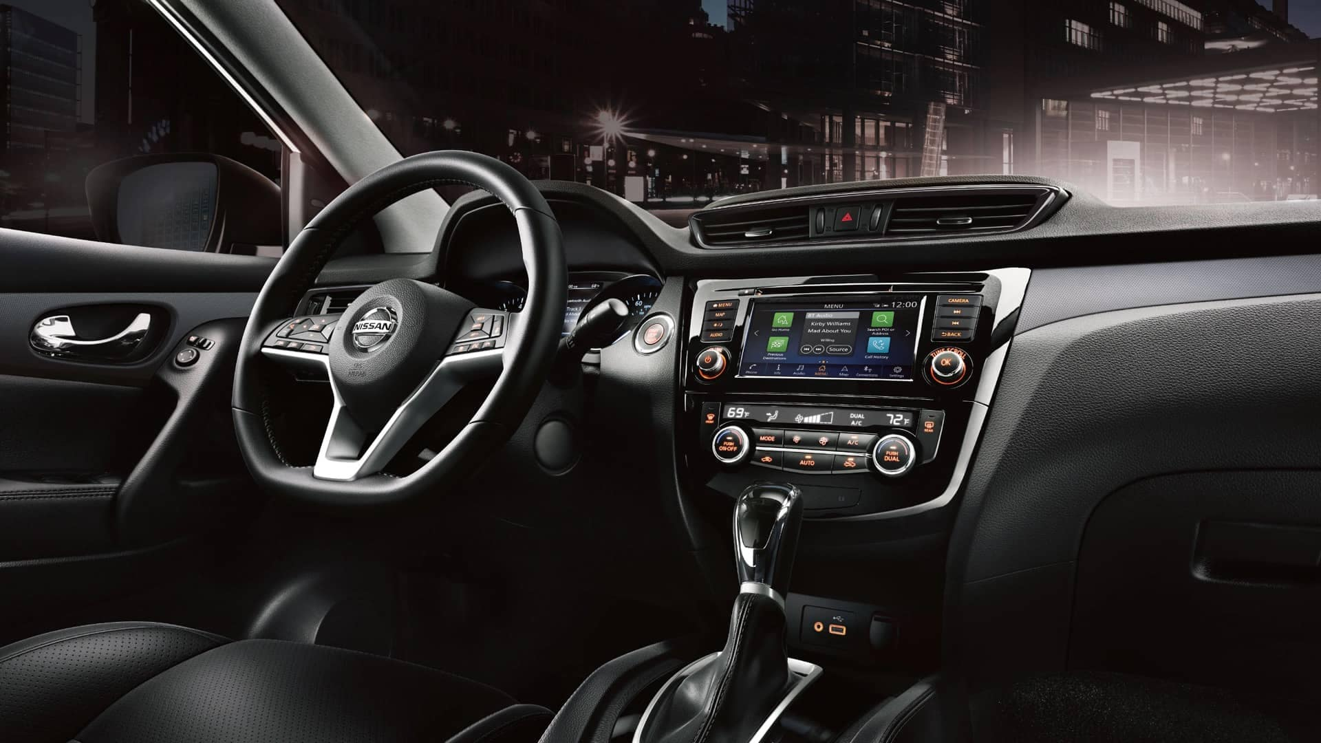 2020 Nissan Rogue S Interior