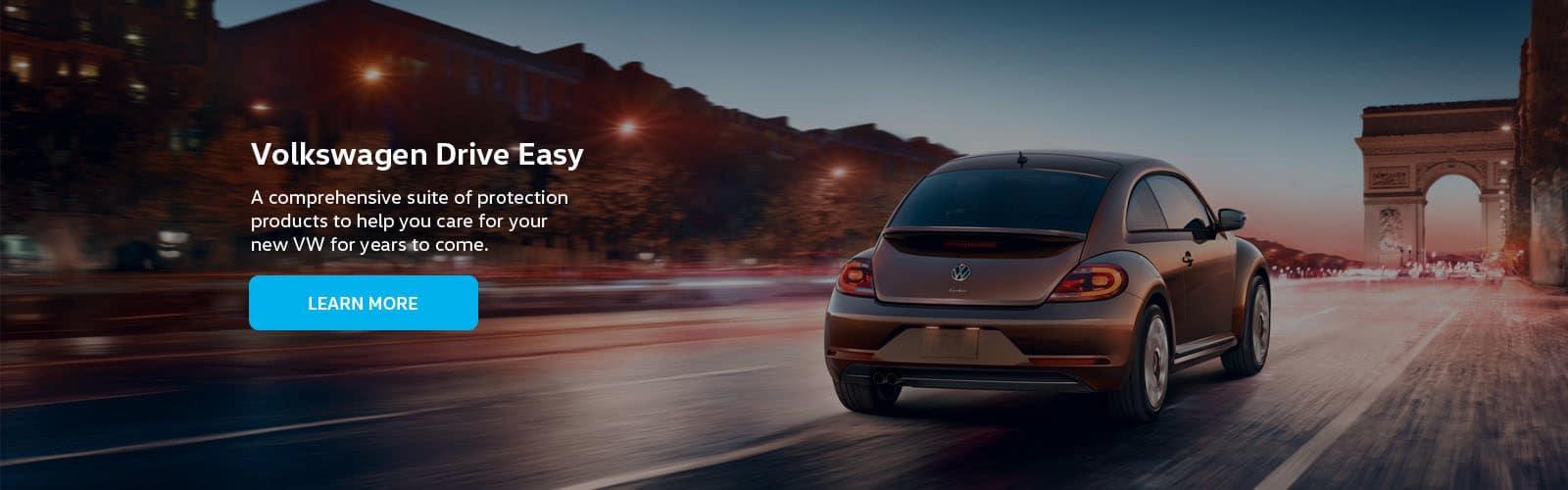 Volkswagen Drive Easy Dealer Banner - 1600 X 500