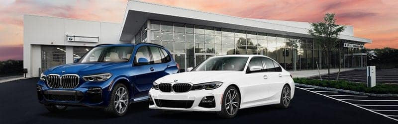 bmw-vehicles-in-front-of-a-dealership