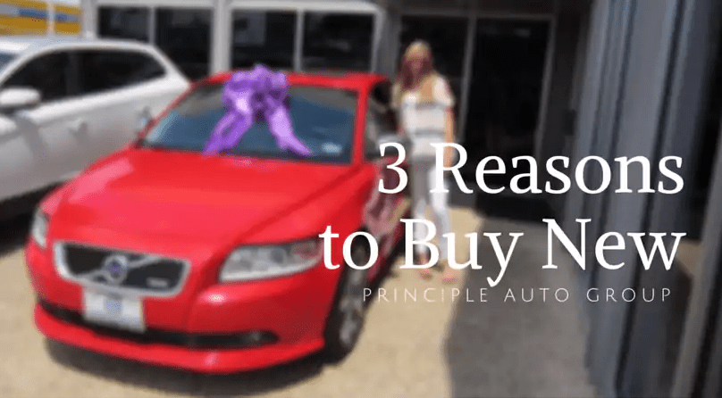 3 Reasons To Buy New