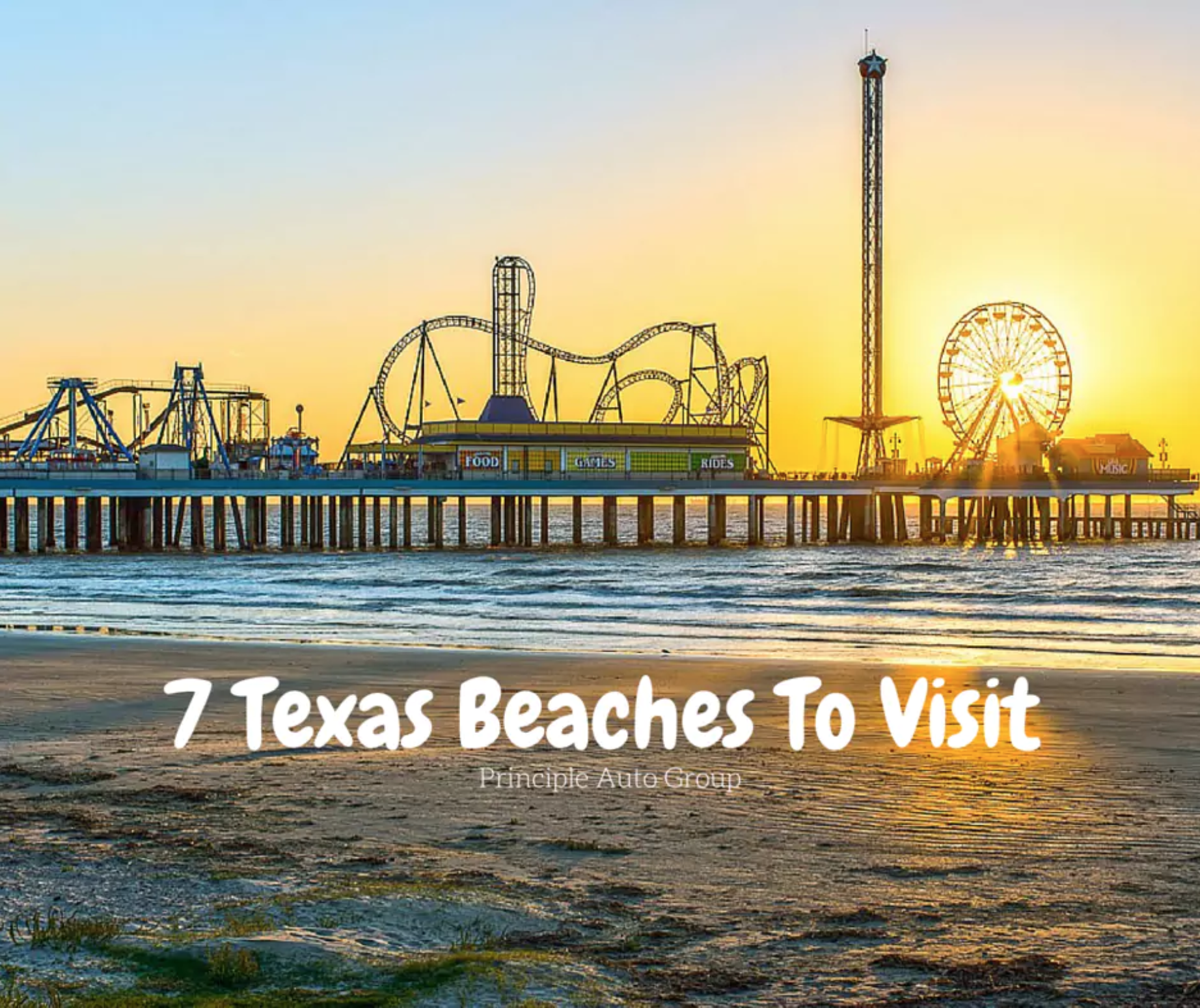7 Texas Beaches To Visit | Principle Auto