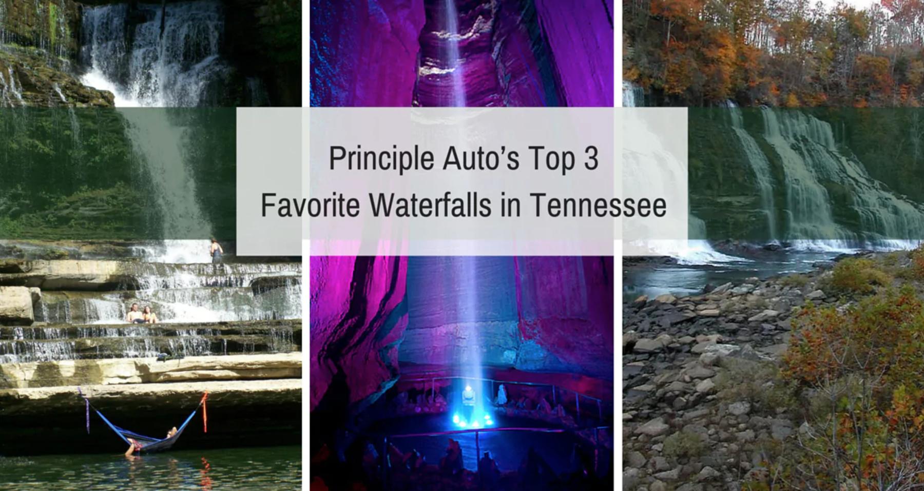 Top 3 Favorite Waterfalls in Tennessee
