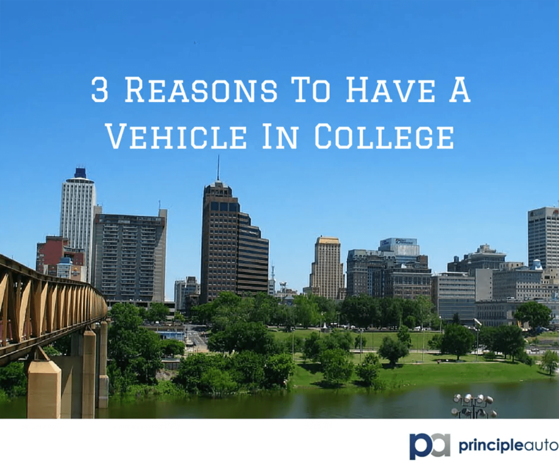 Three reasons to have a vehicle in college