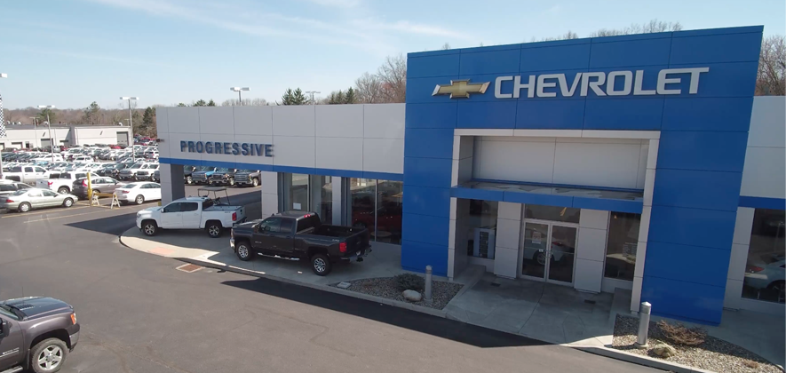 Progressive Chevrolet dealership
