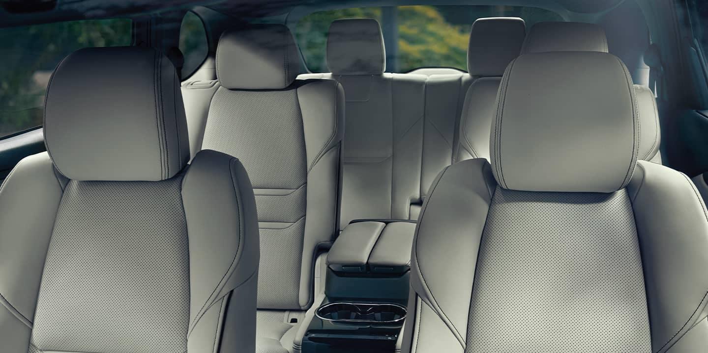 CX9 interior