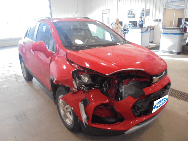 Red_Chevy_Trax_With_Frontend_Damage