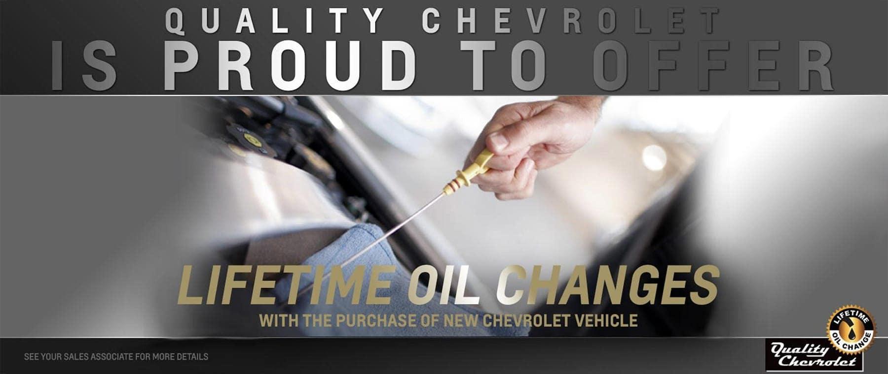 Lifetime Oil Change Slide