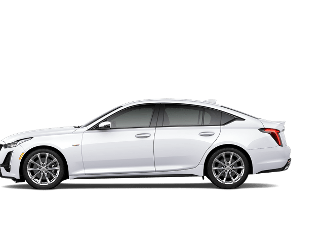 White Cadillac CT5
