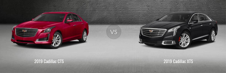 Cadillac CTS vs XTS