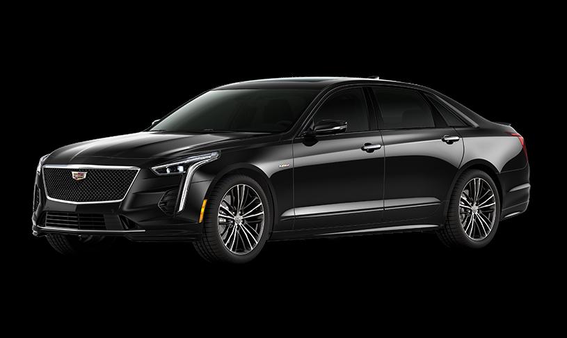 Black Cadillac CT6