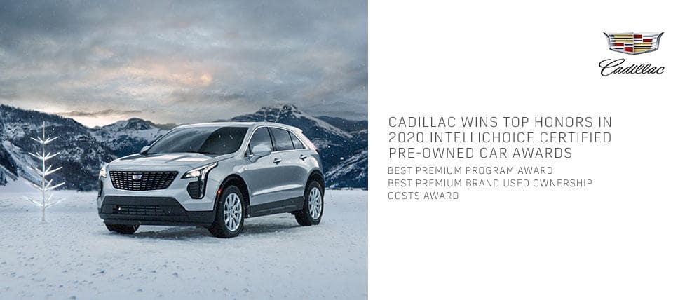 Quantrell Cadillac Intellichoice Awards