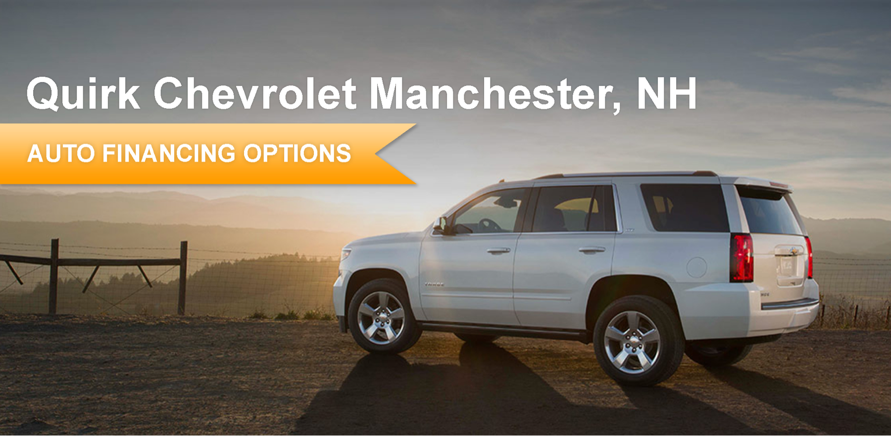 New Chevrolet Financing | Quirk Chevrolet Manchester in NH