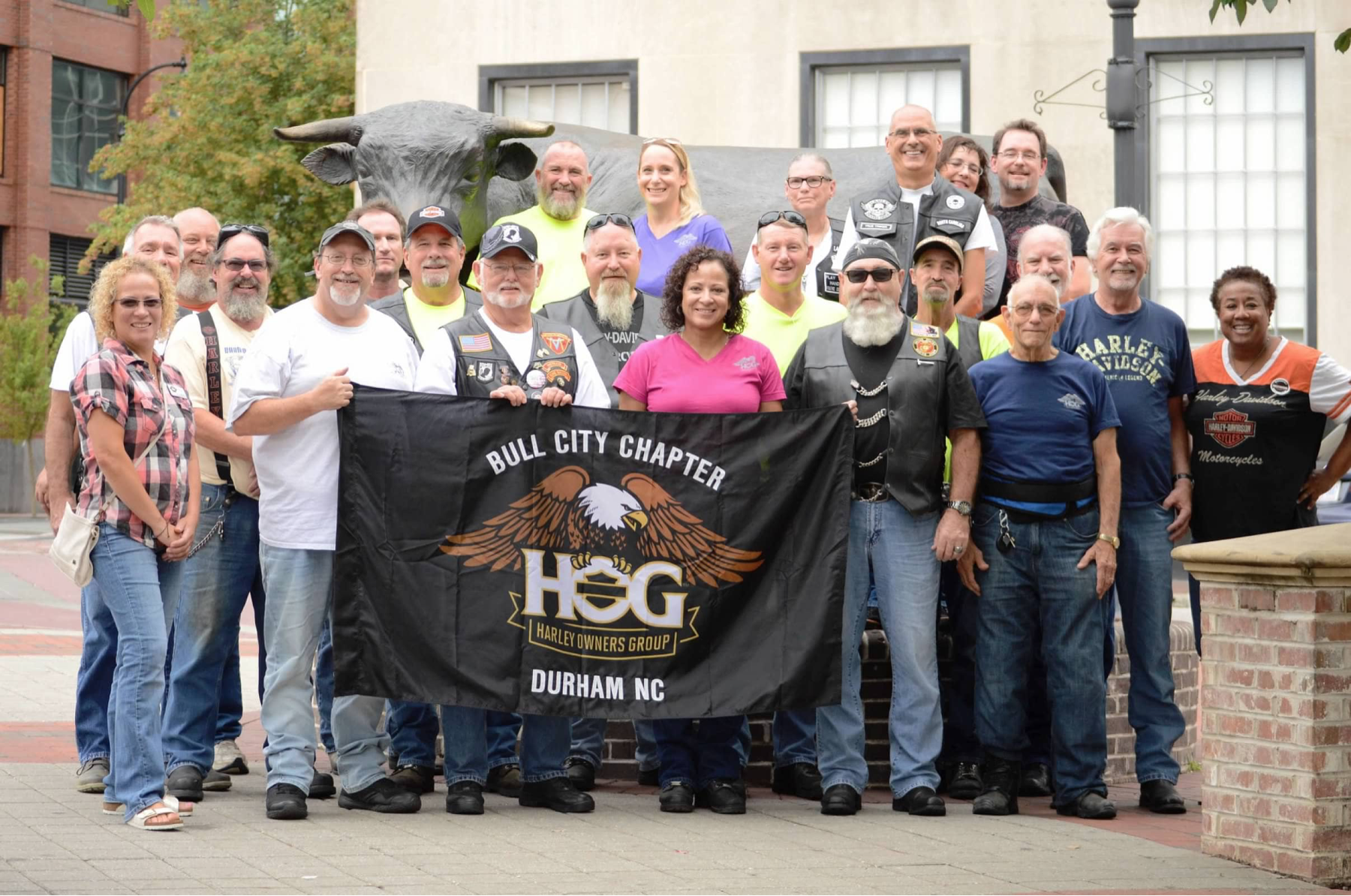 Dunham HOG Chapter photo of members