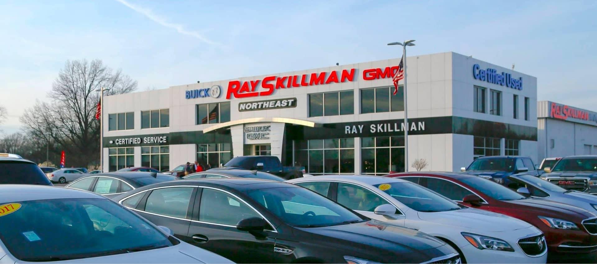 Ray Skillman Buick GMC dealership exterior