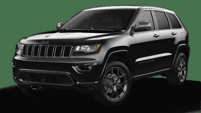 2021 Jeep Grand Cherokee 80th Anniversary