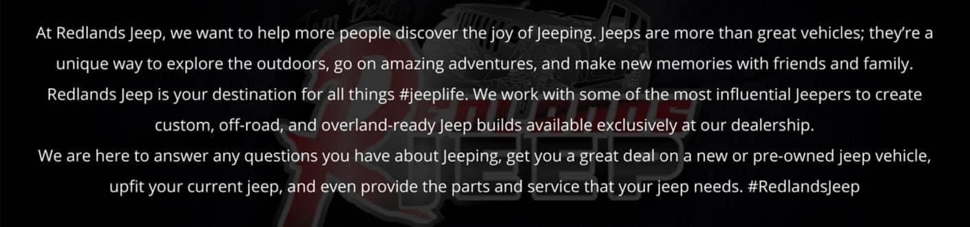 Redlands Jeeps