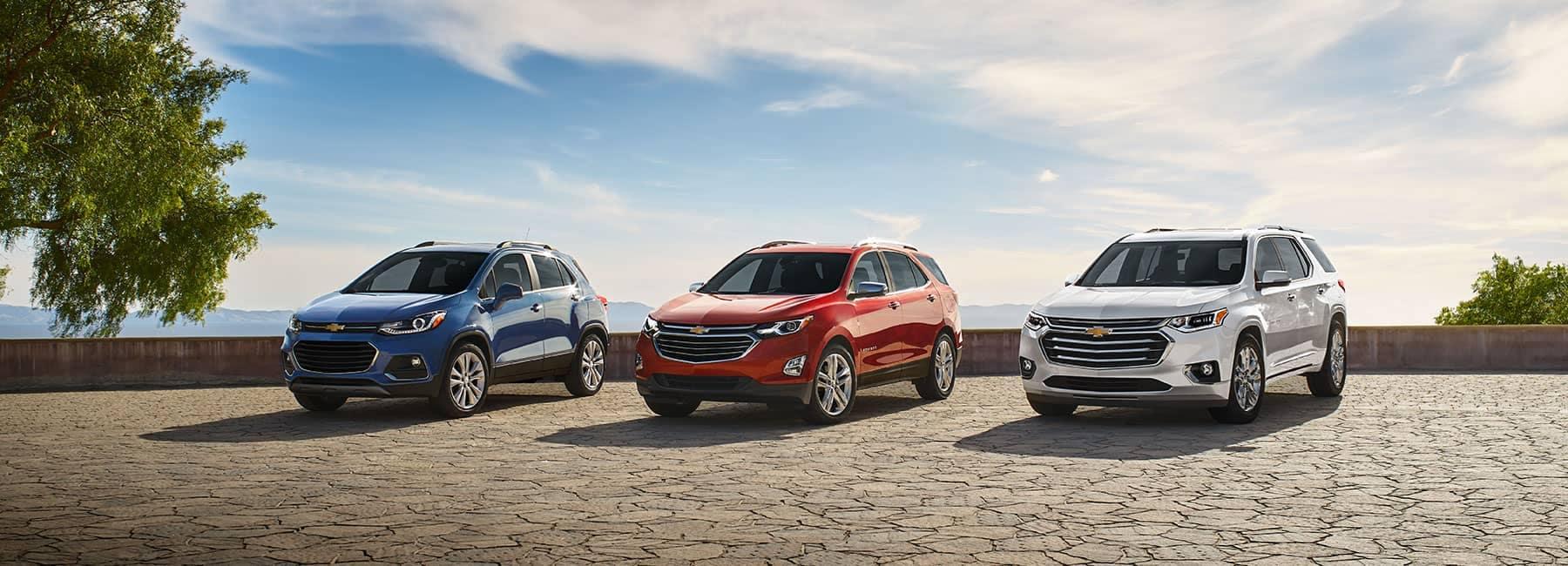 2019 Chevrolet SUVs Lineup