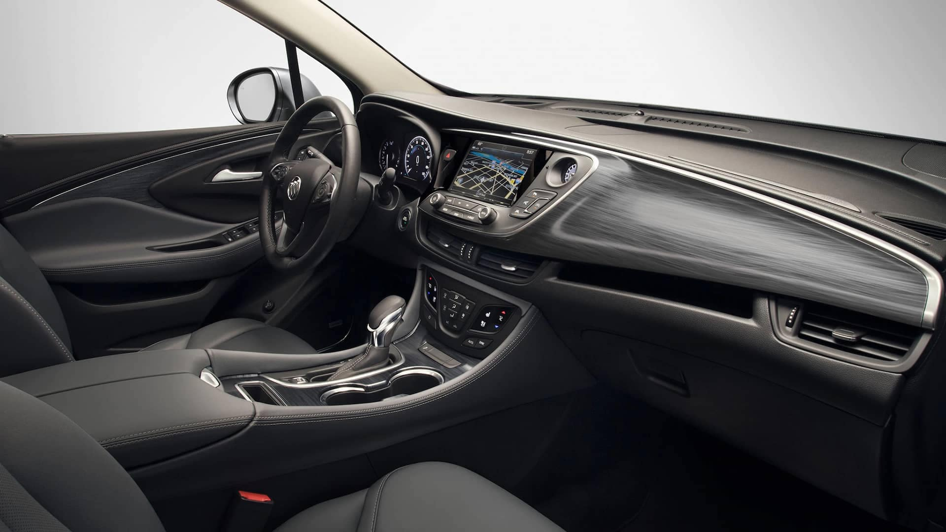 2020 Buick Envision Compact SUV Front Dash Interior