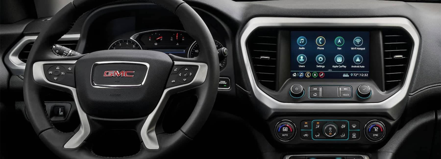 2020 GMC Acadia Mid-Size SUV- interior dash panel