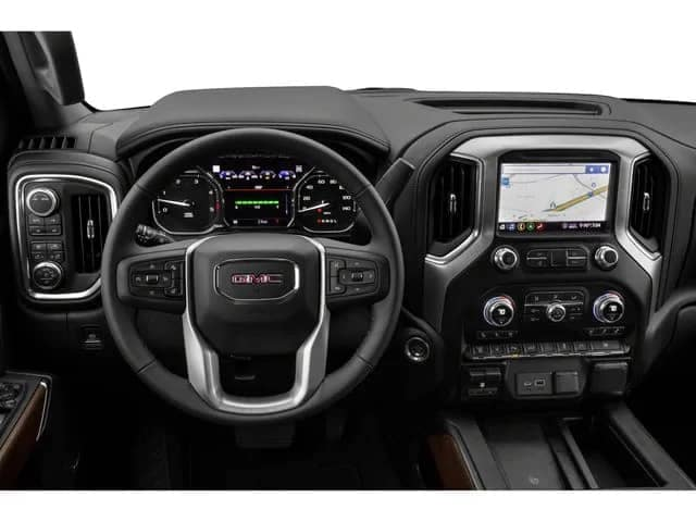 2020 sierra 2500hd interior