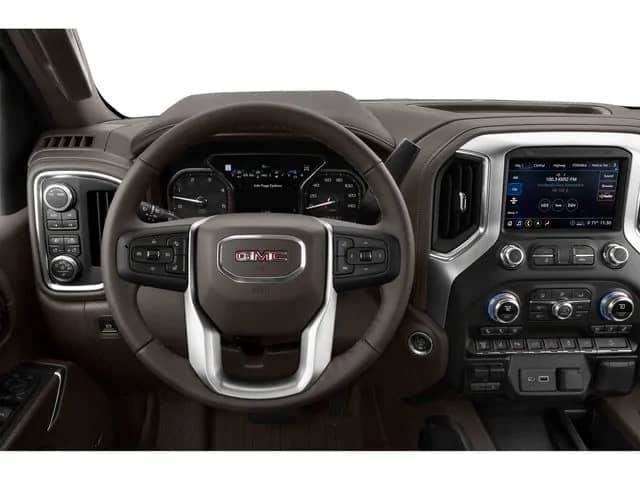 2020 sierra 3500hd interior