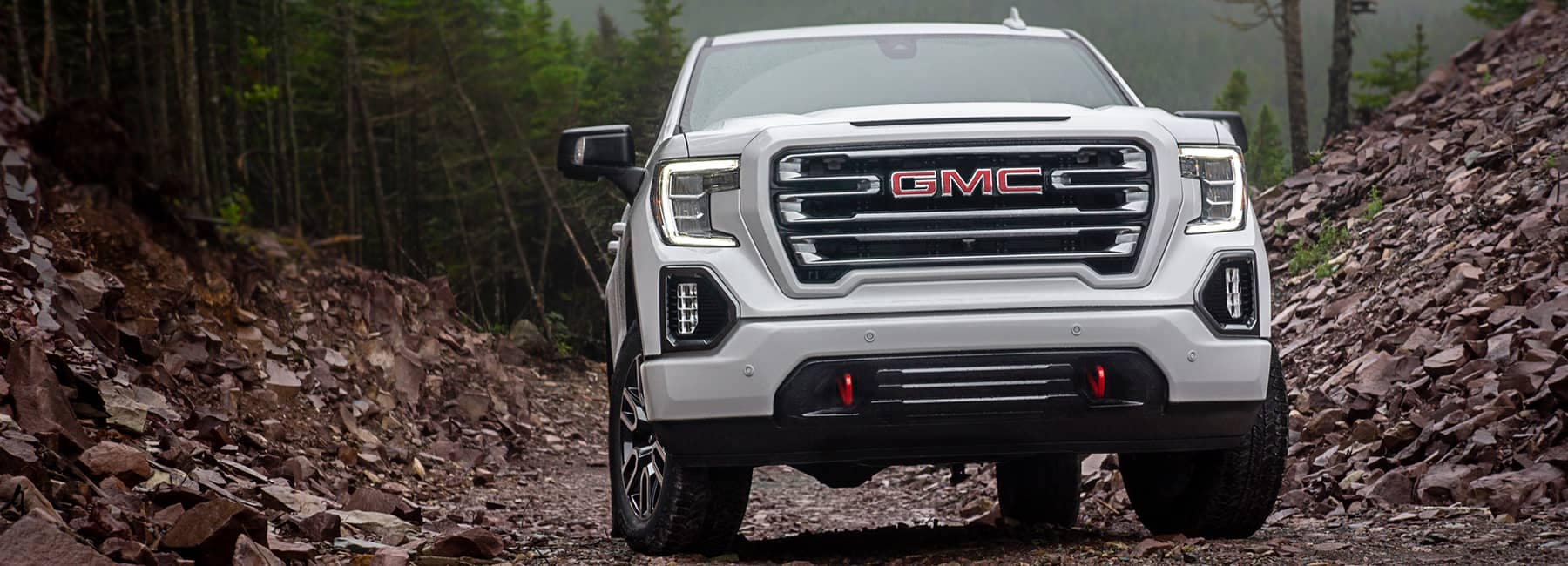 GMC Sierra White Front