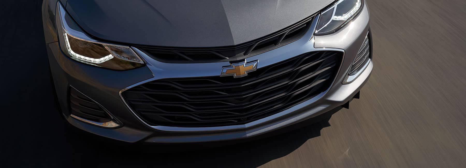 Gray 2019 Chevrolet Cruz Exterior Nose