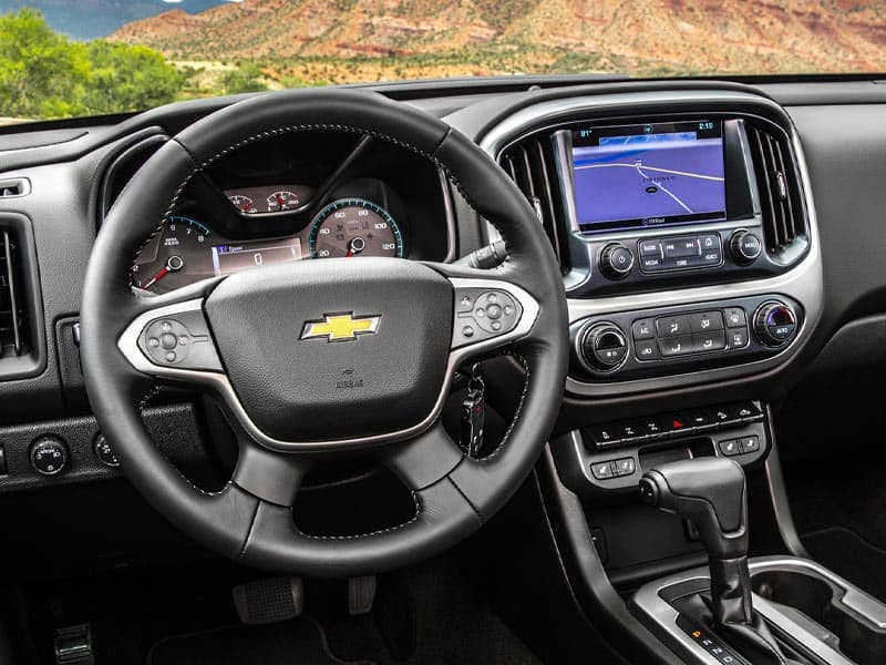 2021 Chevrolet Colorado features and equipment