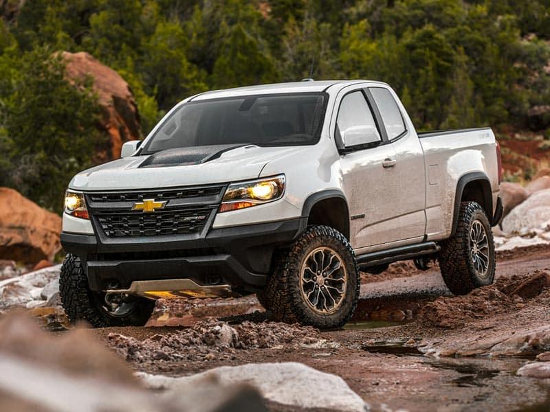 2021 Chevrolet Colorado powertrains