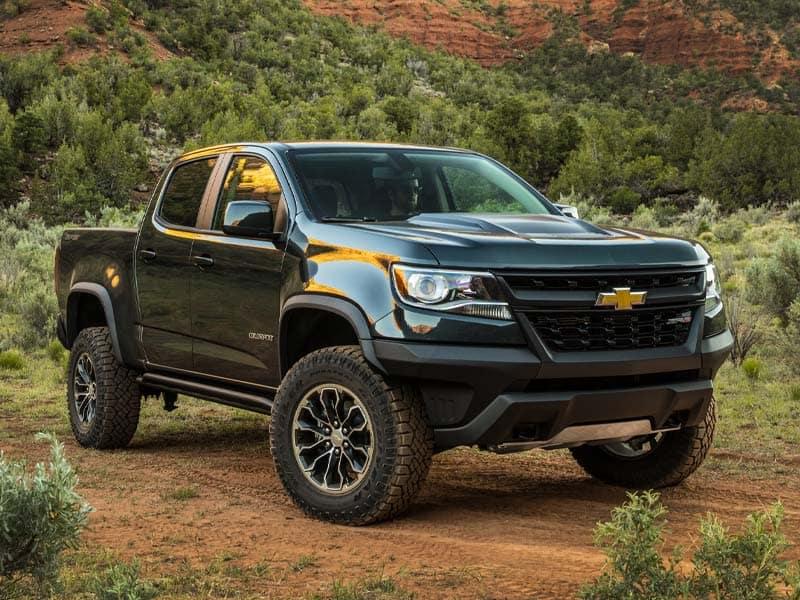 2021 Chevrolet Colorado trim levels