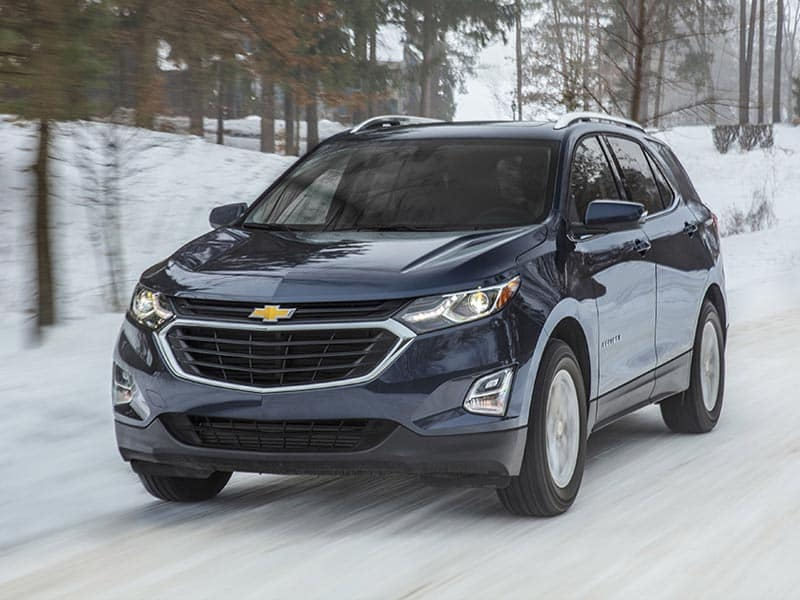 2021 Chevrolet Equinox Powertrains and Fuel Economy