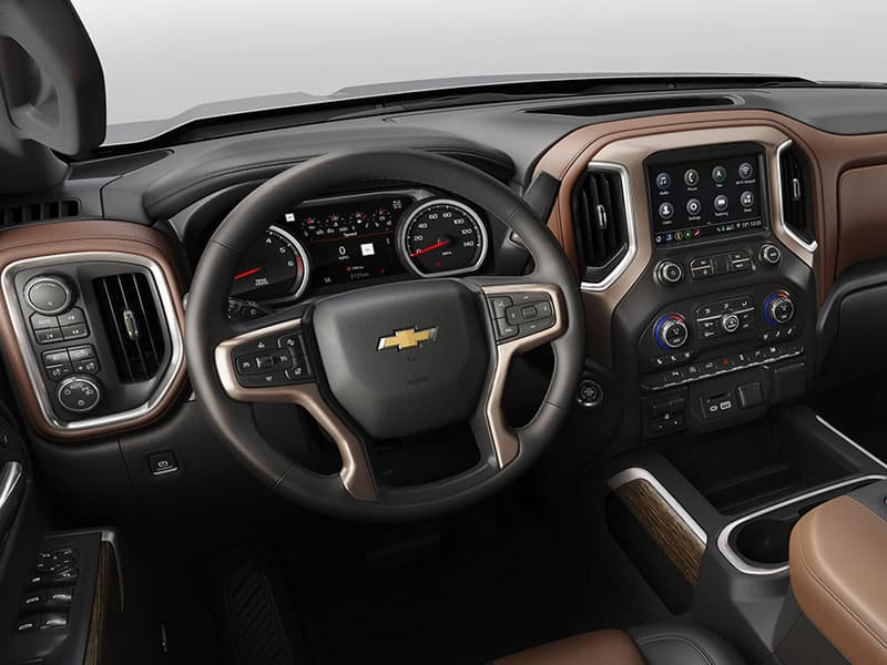 2021 Chevrolet Silverado 1500 High Country Features and Equipment