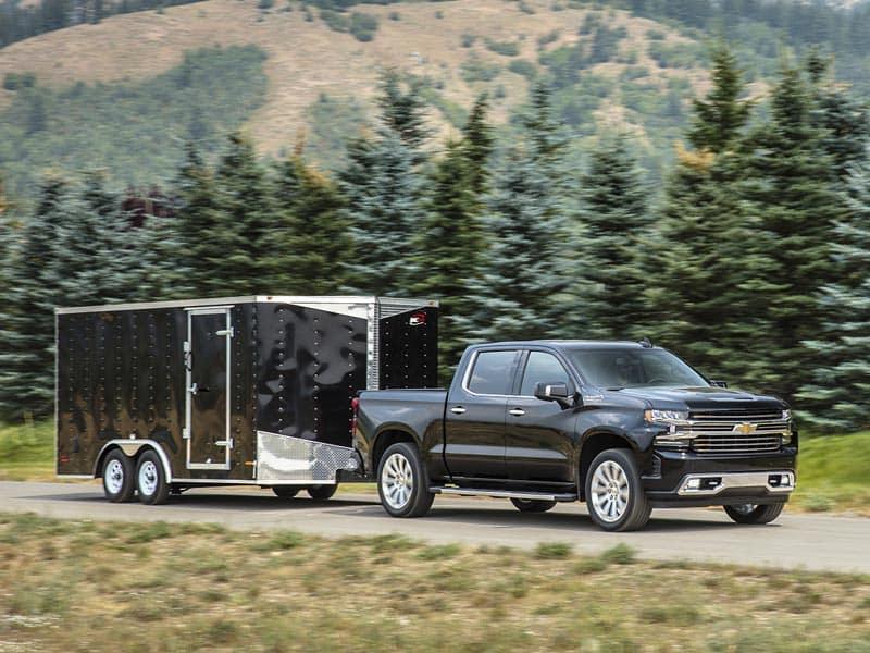 2021 Chevrolet Silverado 1500 High Country Powertrains