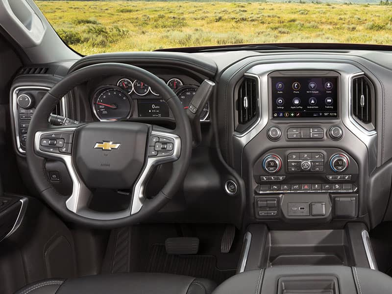 2021 Chevrolet Silverado 1500 RST Features and Equipment