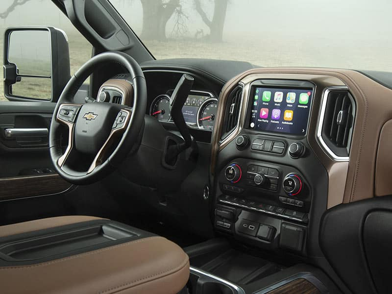 2021 Chevrolet Silverado 2500HD Features and Equipment