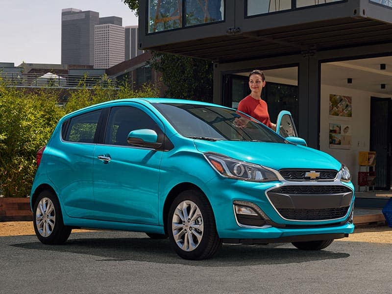 2021 Chevrolet Spark Engines and Trim Levels