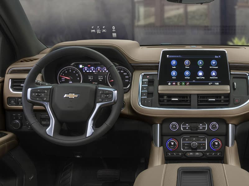 2021 Chevrolet Suburban Features and Equipment