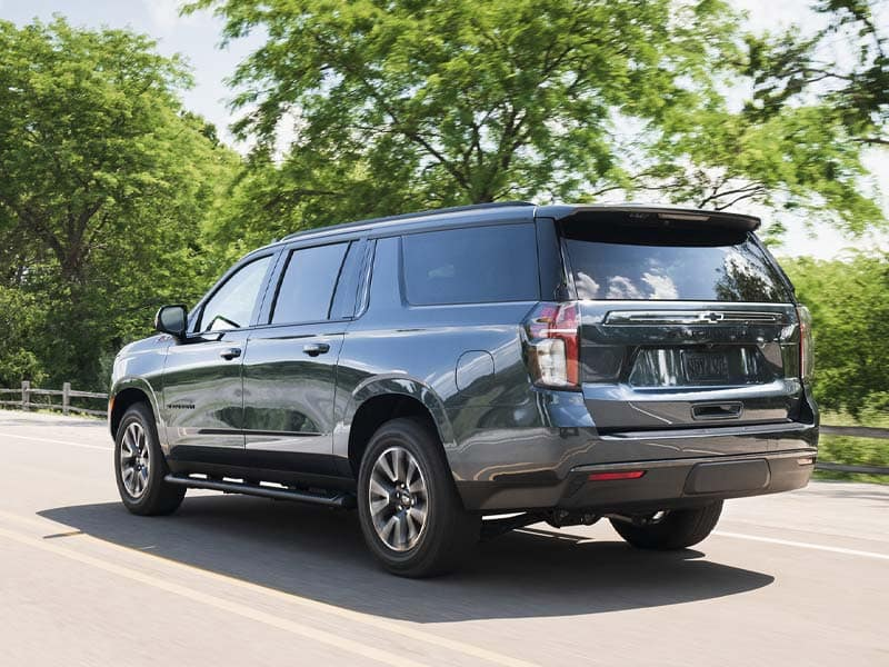 2021 Chevrolet Suburban Powertrain