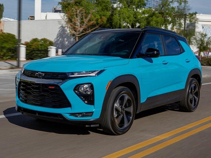 2021 Chevrolet Trailblazer Efficient Performance