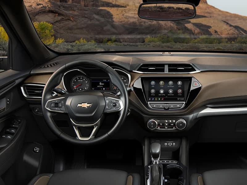 2021 Chevrolet Trailblazer Interior and Safety